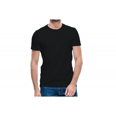 Basic Black Half Sleeve T-shirt