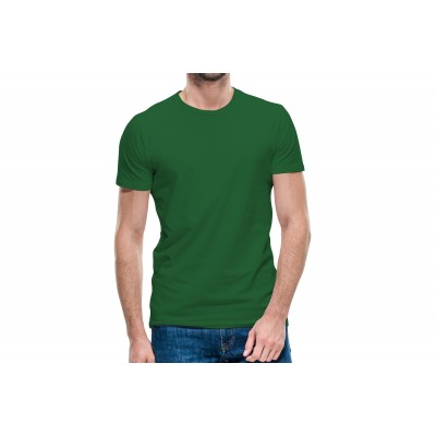 Basic Green Half Sleeve T-shirt