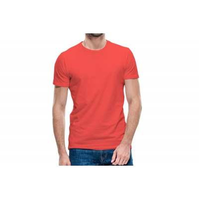 Basic Red Half Sleeve T-shirt