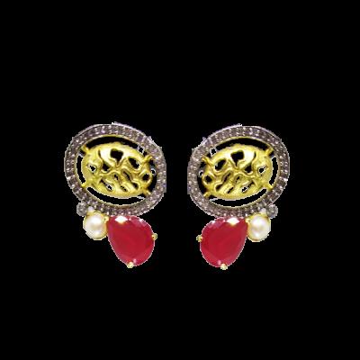 c9535732515 Splendid Creations Traditional Gold Plated Dangle   Drop Earrings For Women