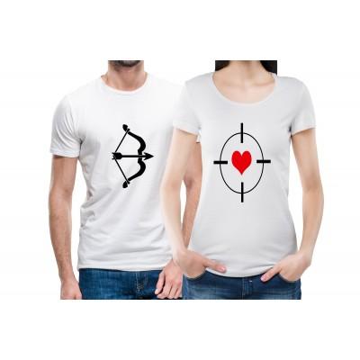 Bow & Arrow Couple Tees