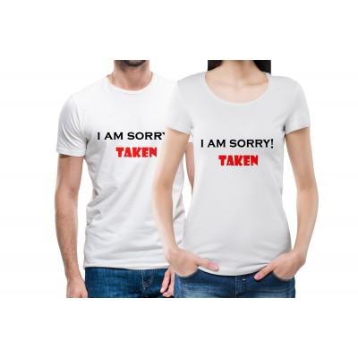 I am sorry Taken Couple Tees