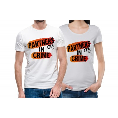 Partners In Crime T-shirt for Friends