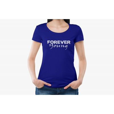 Forever Young Half Sleeve T-shirt