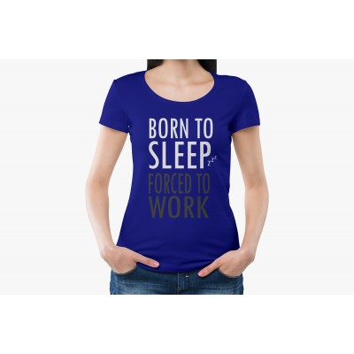 Born To Sleep Half Sleeve T-shirt