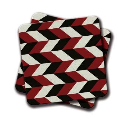 Arrow Coaster - Set Of 2 (4 inch x 4 inch)