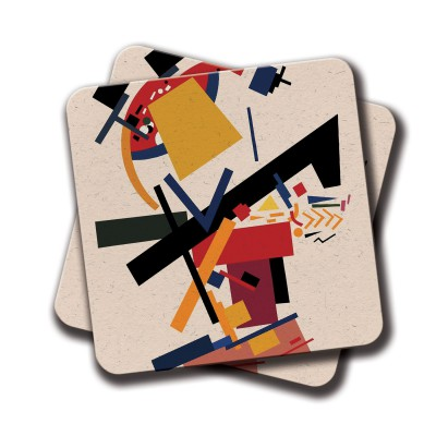 Cartoon Coaster - Set Of 2 (4 inch x 4 inch)
