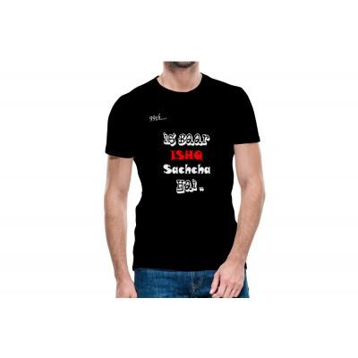 Ish Bar Pyar Half Sleeve T-Shirt