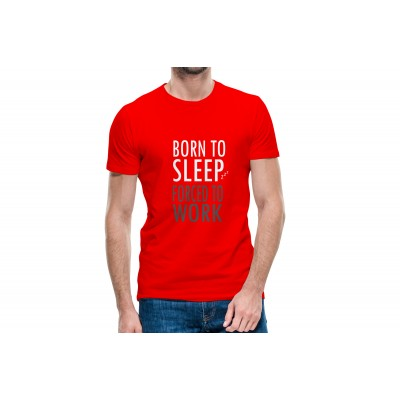 Born To Sleep Half Sleeve T-shirt