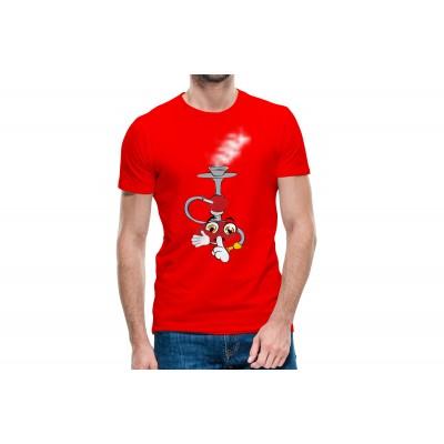 Hookah Half Sleeve T-shirt