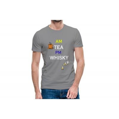 AM PM Half Sleeve T-shirt