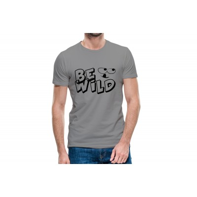 Be Wild Half Sleeve T-shirt