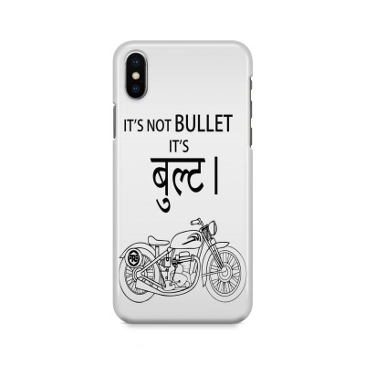 It'S Not Bullet Case For IPHONE XS MAX