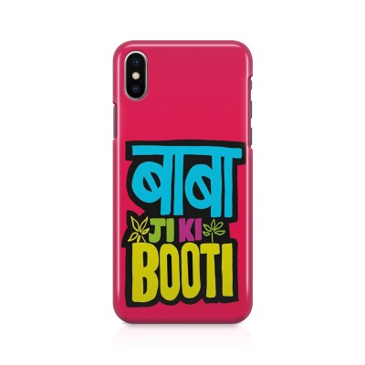 Baba Ji Ki Booti Case For IPHONE XS MAX