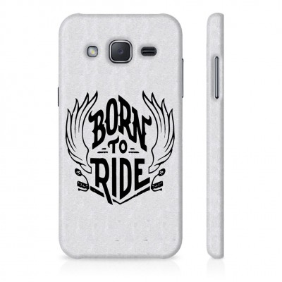 Born To Ride Case For  Samsung Galaxy J7 Pro