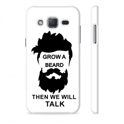 Grow A Beard Then We Will Talk Case For  Samsung Galaxy J7 Pro