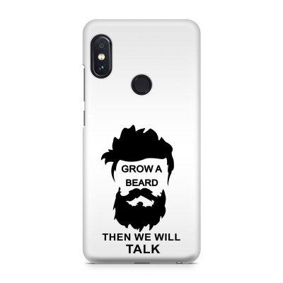 Grow A Beard Then We Will Talk Case For  Redmi Note 5 Pro