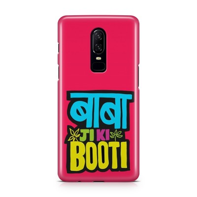 Baba Ji Ki Booti Case For  OnePlus 6